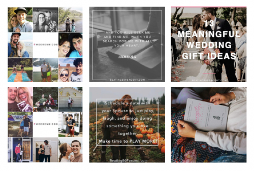 beating 50 percent instagram inspiration