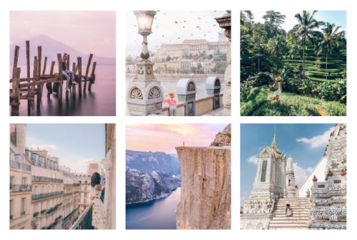 dame traveler instagram inspiration