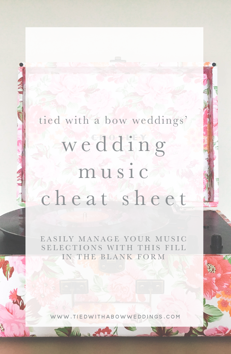 wedding-music-check-list- unique ceremony songs